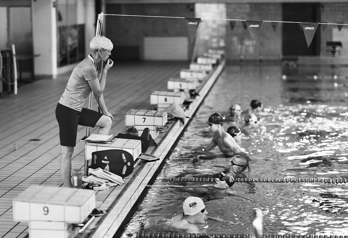 Plaukimo treniruotė